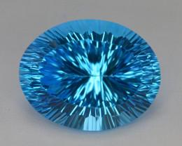 blue Swiss Topaz 47.20 Ct Natural Gemstone