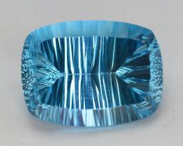 blue Swiss Topaz 56.30 Ct Natural Gemstone
