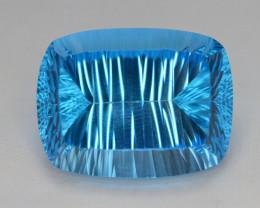 blue Swiss Topaz 66.95 Ct Natural Gemstone