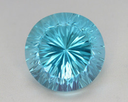 blue Swiss Topaz 35.70 Ct Natural Gemstone