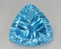 blue Swiss Topaz 35.05 Ct Natural Gemstone