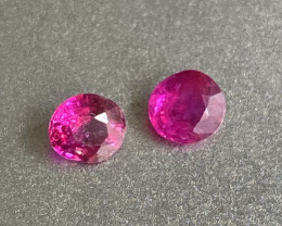 0.7ct natural unheated Burma ruby