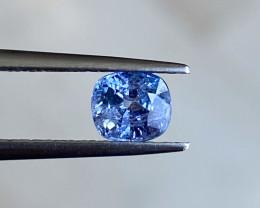 1.18ct unheated blue sapphire