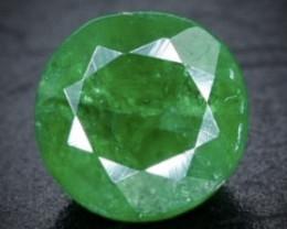 0.59 Crt Natural Tsavorite Faceted Gemstone.( AB 71)