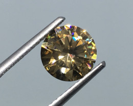 1.92 Carat VVS Zircon Master Knock You Out Flash and Sparkle !