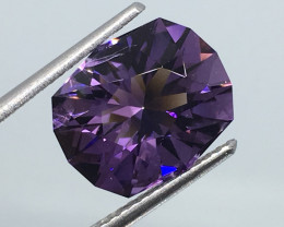 3.94 Carat IF Amethyst Master Cut to Perfection !