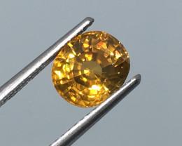 2.72 Carat Zircon VVS  Brilliant Gold Flash Tanzania Rare !