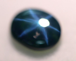 2.83ct Natural 6 Rays Star Blue Sapphire Lot B3003