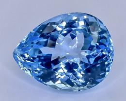 21.67 Crt Topaz Faceted Gemstone (Rk-46)