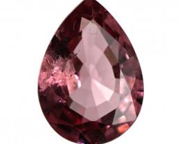 2.43cts Natural Pink Tourmaline Pear Shape