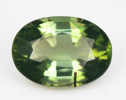 Green Tourmaline 1.18 Cts Natural