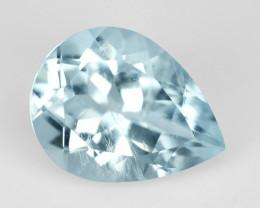 Aquamarine 1.50 Cts Un Heated Blue Natural Loose Gemstone
