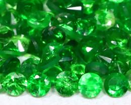 2.40Ct Calibrate 1.6mm Natural Green Color Tsavorite Garnet Lot B0301