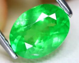 Tsavorite 1.33Ct VS2 Oval Cut Natural Green Tsavorite Garnet C2106