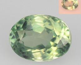 Alexandrite 0.46 Cts Change Green To Orange Natural Gemstone