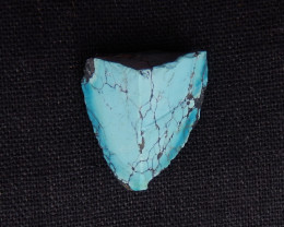 36.5cts Raw natural turquoise, healing gemstone ,turquoise specimen H1346