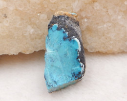 32cts Raw natural turquoise, healing gemstone ,turquoise specimen H1350