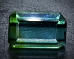 1.09 Crt Natural  Tourmaline Faceted Gemstone.( AB 72)
