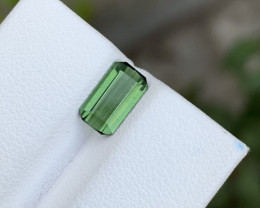 1.50 carats Green colour Tourmaline Gemstone From Afghanistan
