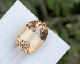 13.40 carats brown topaz Gemstone