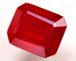 Ruby 9.90Ct Madagascar Blood Red Ruby D2209/A20