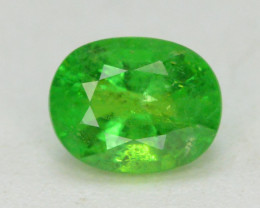 Tsavorite Garnet 0.85 Ct Marvelous Color Rare Natural Tsavorite Garnet