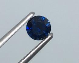 .45 Carat VVS  Sapphire Colbalt Blue Master Cut to Perfection Sri Lanka !