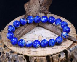 138.65Ct Natural Sodalite Beads Bracelet C2605