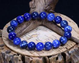133.30Ct Natural Sodalite Beads Bracelet C2609