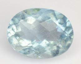 Aquamarine 2.48 Cts Un Heated Blue Natural Loose Gemstone
