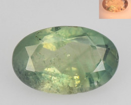 Alexandrite 0.48 Cts Amazing Rare Color Change Green To Orange Natural