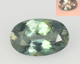 Alexandrite 0.20 Cts Amazing Rare Color Change Green To Orange Natural