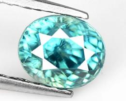 Blue Zircon 1.82 Cts Natural Gemstone