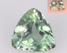 Alexandrite 0.19 Cts Amazing Rare Color Change Green To Orange Natural
