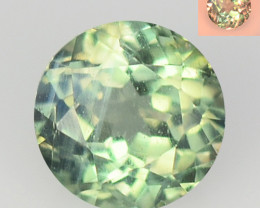 Alexandrite 0.36 Cts Amazing Rare Color Change Green To Orange Natural