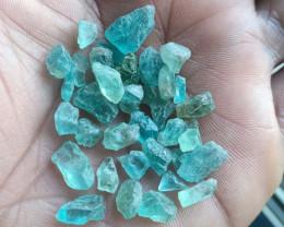 50 Ct Natural Apatite Rough Gemstone Wholesale Parcel VA2987
