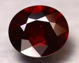 Almandine 7.12Ct Natural Blood Red Almandine Garnet E0412/B26