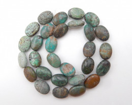 181cts Turquoise Necklace ,Nugget Turquoise Necklace ,Turquoise Beads ,Luck