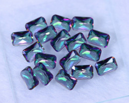11.80cts Natural Rainbow Mystic Topaz Loose Stone Lots / MA1048