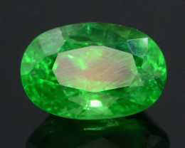 Tsavorite Garnet 1.0 Ct Natural Forest Green Tsavorite ~ Tanzania