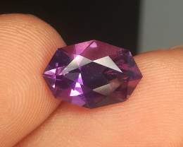 Wow Very Beautiful Color And Cut Amethyst Gemstone