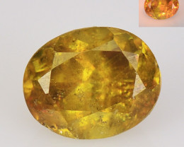 SPHENE 0.90 Cts EXCELLENT COLOR CHANGE NATURAL