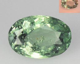 Alexandrite 0.79 Cts Amazing Rare Color Change Green To Orange Natural