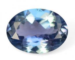 *No Reserve* Tanzanite 1.10 Cts Amazing rare Violet Blue Color Natural Gems