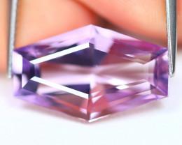 Amethyst 8.72Ct VVS Fancy Cut Natural Bolivian Purple Amethyst C2705