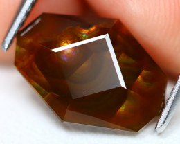 Mexican Fire Agate 3.63Ct Master Cut Natural Mexican Fire Agate A2801