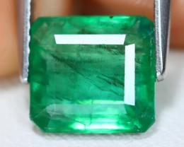 Zambian Emerald 2.58Ct Octagon Cut Natural Green Color Emerald B2801