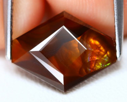 Mexican Fire Agate 3.90Ct Master Cut Natural Mexican Fire Agate A2902