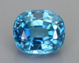 AAA Brilliance 4.23 ct Blue Zircon Cambodia SKU.13