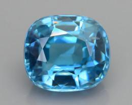 AAA Brilliance 3.35 ct Blue Zircon Cambodia SKU.13